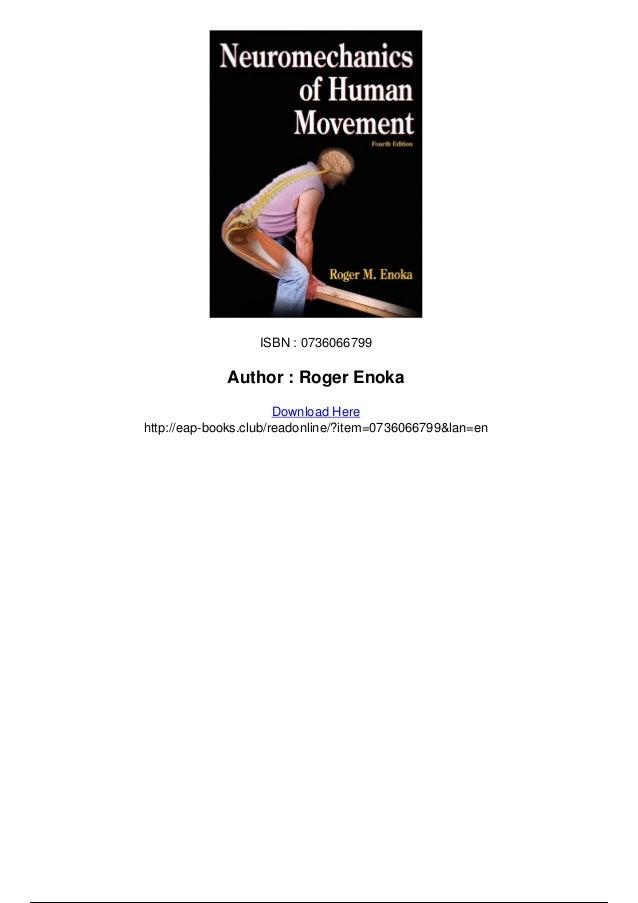 Neuromechanics Of Human Movement 4th Edition Pdf