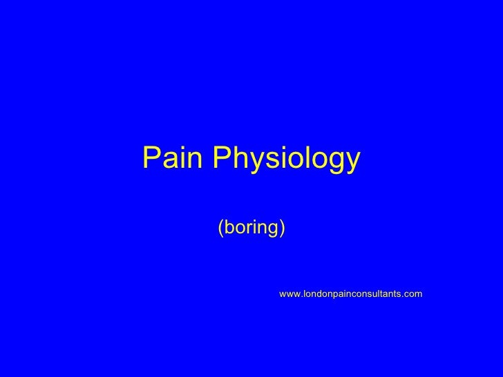 operational definition for pain Read medical definition of pain management  pain management: the process of providing medical care that alleviates or reduces pain.