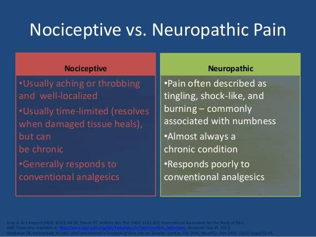 Neuropathic Pain Diagnosis Amp Management