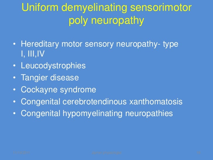 Neuropathies Myopathies An Overview