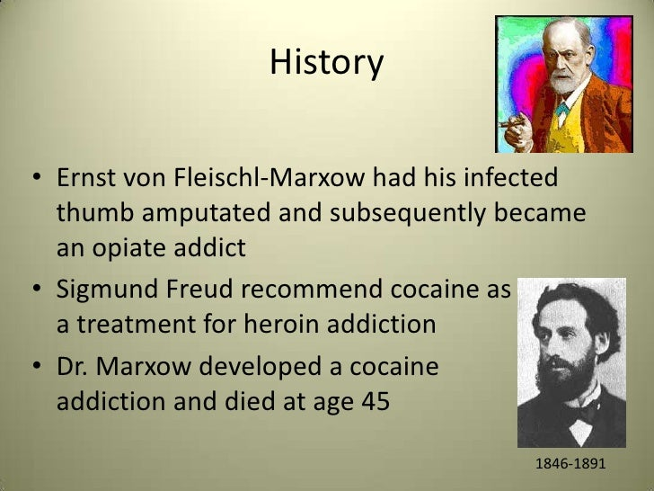 history of drugs used to treat Morphine and other opiates were used to help treat pain and  a short history of  drugs and war, cocaine also became a drug of abuse on the.