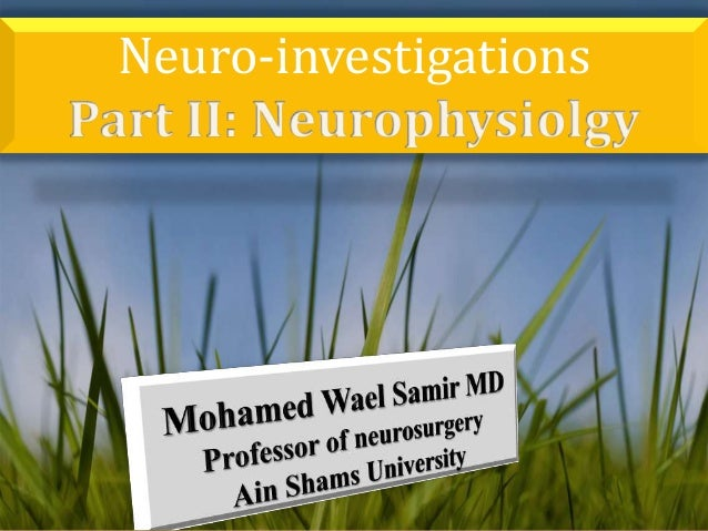 Neuro-investigations