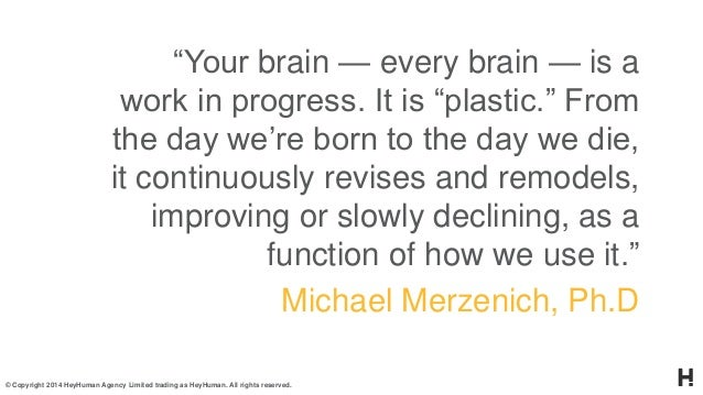 Neuroplasticity & technology Slide 3