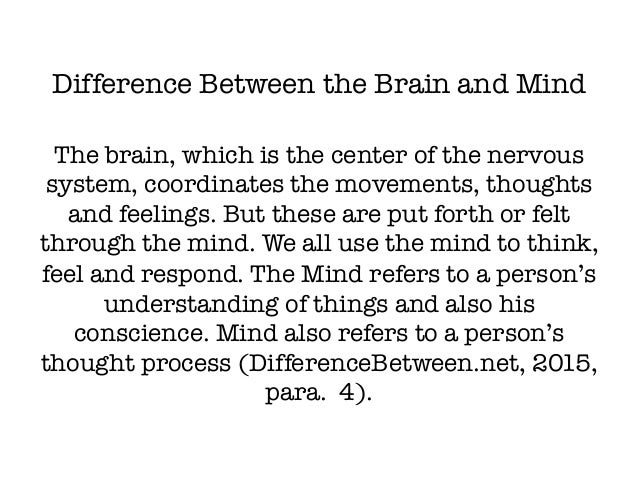 The Mind vs. Brain Debate (What is Consciousness?)