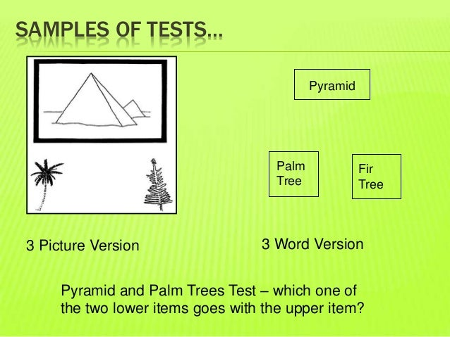 Rey-osterrieth complex figure test