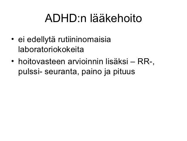 adhd lääkkeet suomessa Lahti