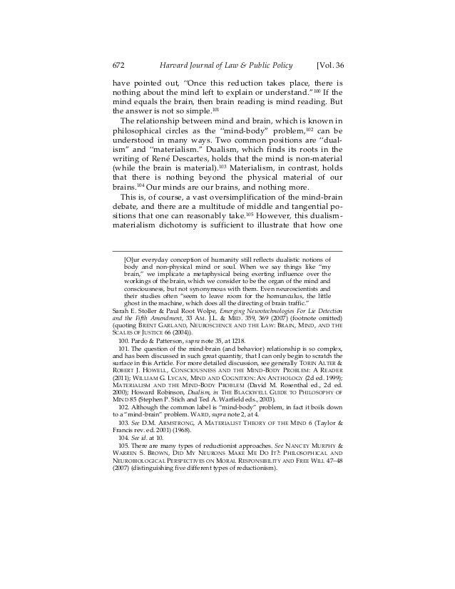 heideggers reading of descartes dualism essay References and further reading primary sources descartes short essay examining descartes' correspondence with elizabeth marleen, descartes's dualism.