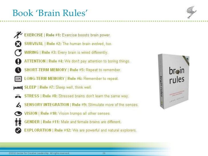 Sensational Book Brain Rules2012 Center For Wiring 101 Mecadwellnesstrialsorg