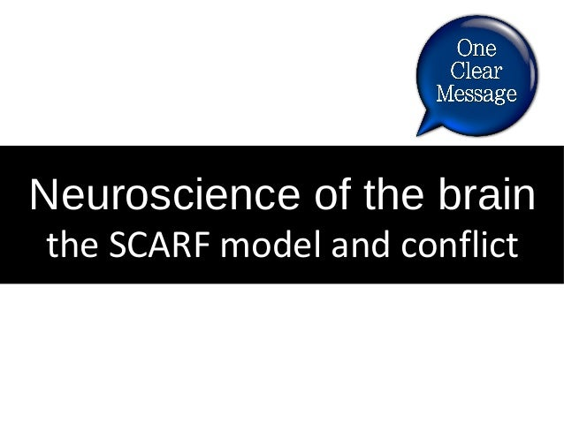 Neuroscience of the brain the SCARF model and conflict