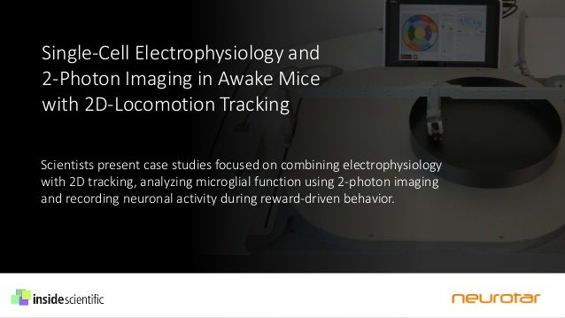 Single-Cell Electrophysiology and 2-Photon Imaging in Awake Mice with 2D-Locomotion Tracking Scientists present case studi...
