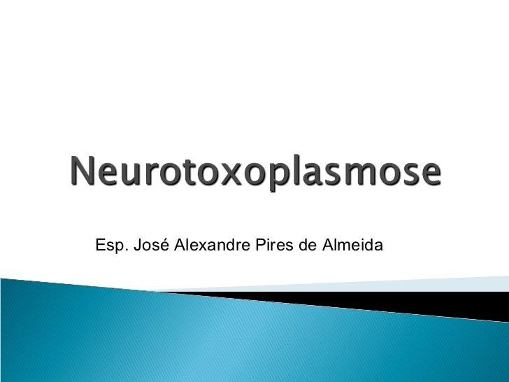Esp. José Alexandre Pires de Almeida