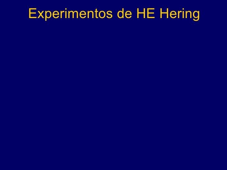 Experimentos de HE Hering