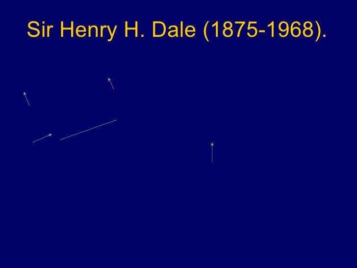 Sir Henry H. Dale (1875-1968).