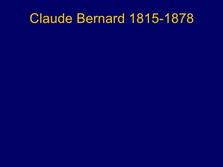 Claude Bernard 1815-1878