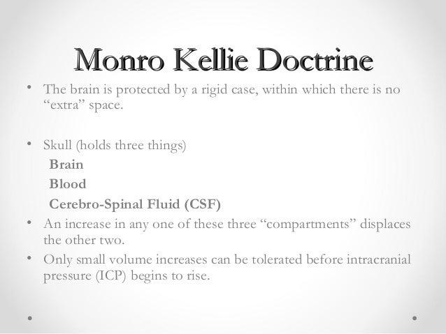 monro kellie doctrine pdf