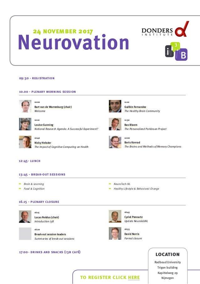 neurovation invitation program