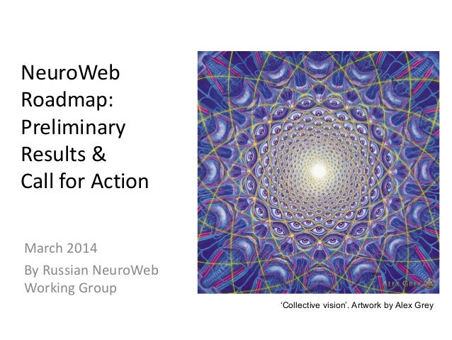 NeuroWeb Roadmap: Preliminary Results & Call for Action March 2014 By Russian NeuroWeb Working Group 'Collective vision'. ...