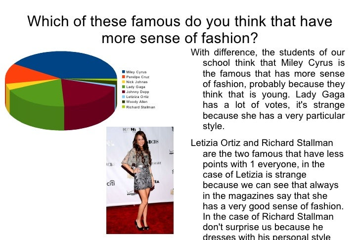 Fashion survey Fashion style questionnaire sample