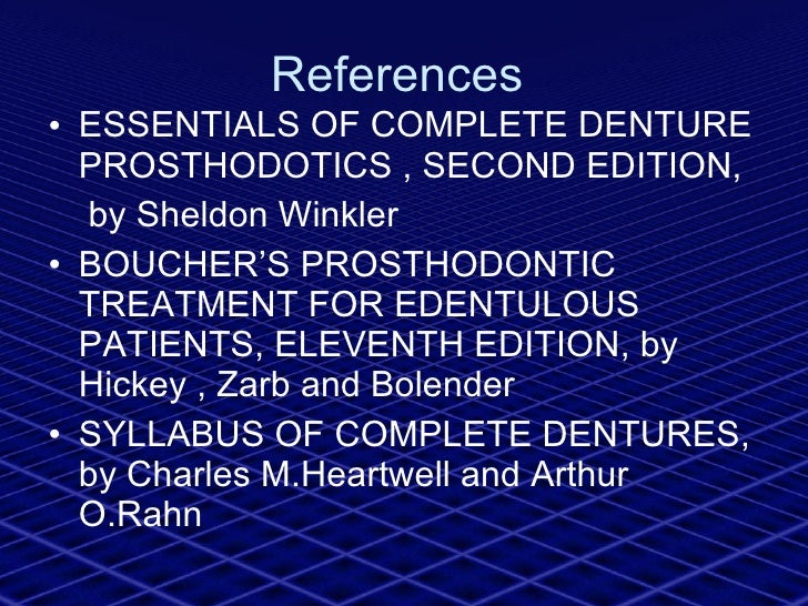 Neutrocentric concept prosthodontics 77 references ulliessentials of complete denture fandeluxe Images