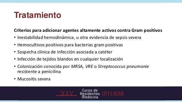 Tiempo de inicio de Terapia Antibiótica Empírica• La terapia antibiótica empírica debe iniciarse en la primera hora  despu...
