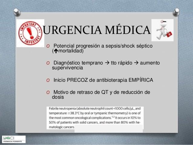 Neutropenia febril 2018 Slide 2