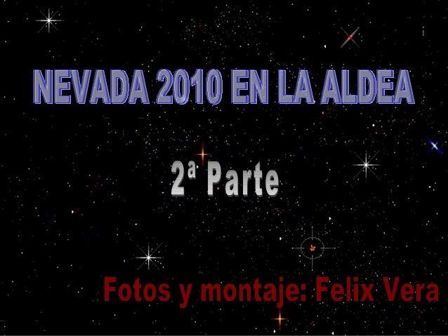 Nevada 2010 en aldea 2ª parte