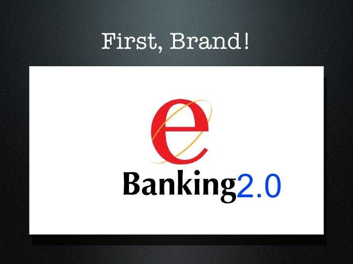 First, Brand! 2.0