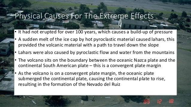 nevado del ruiz case study Case study: ledc tectonic hazard nevado del ruiz background destructive plate margin (subduction of oceanic nazca plate beneath south american plate.