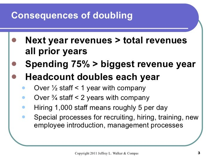 Never before-disclosed oracle planning techniques by Jeff Walker Slide 3