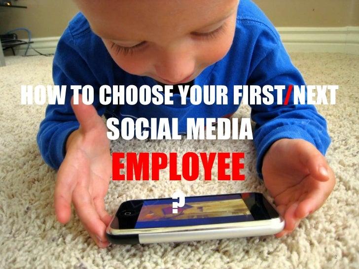 "Never hire a ""Social Media Expert"" Slide 2"