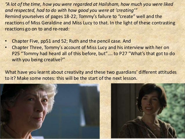 never let me go ruth character analysis