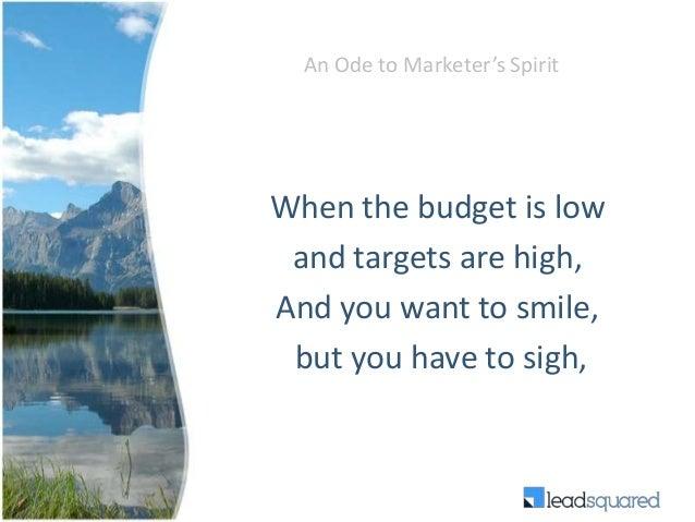 Never say no to marketing Slide 3