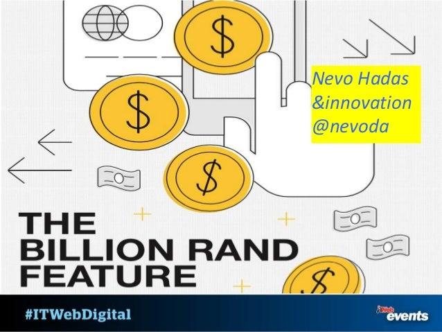 Nevo Hadas &innovation @nevoda