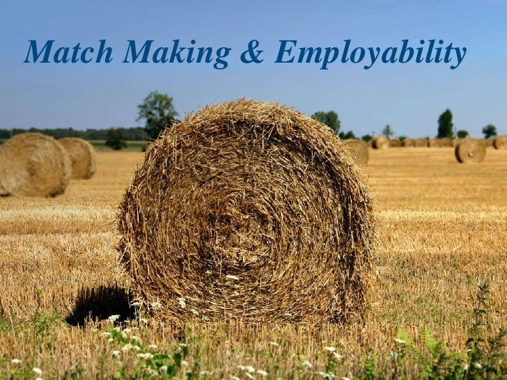 Match Making & Employability