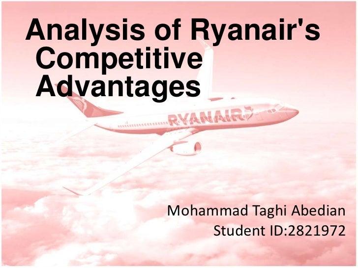ryanair competitive advantage