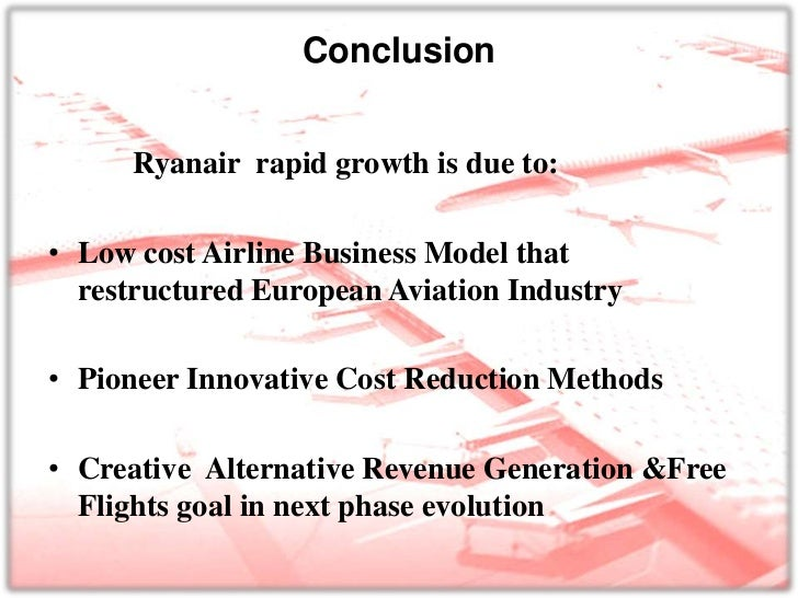 ryanair competitive advantage Competitive advantage and developing a competitive advantage over rivals different market structures there are 3 types of markets, one is perfect competition, another is.