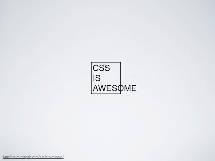 CSS Wish List @JSConf Slide 2