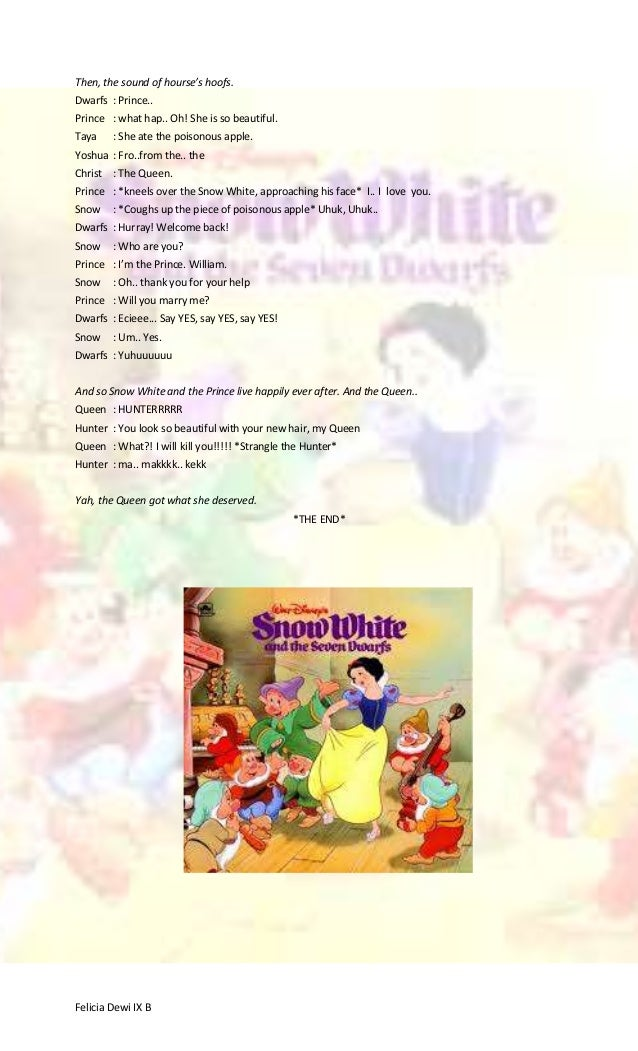 Snow White Drama
