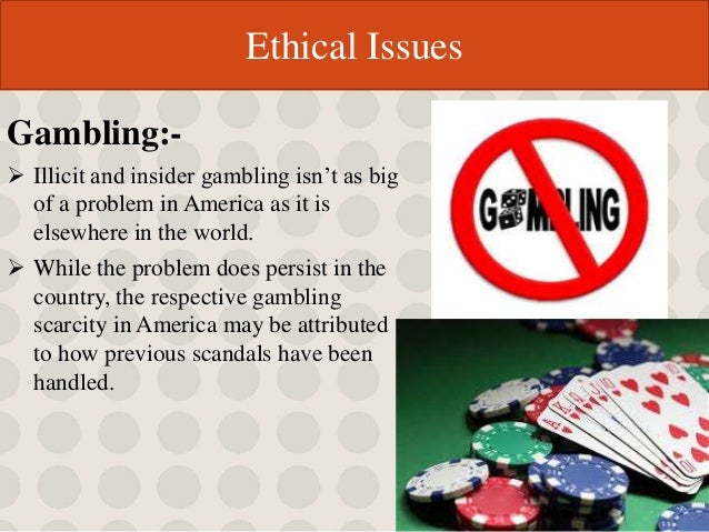 Ethics gambling sports casino royale videos