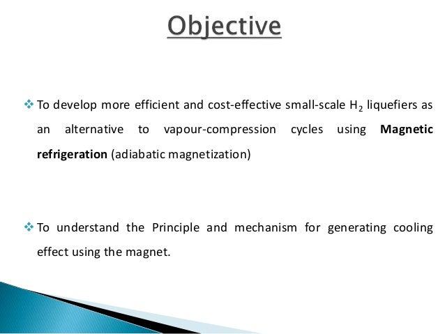 MAGNETIC REFRIGERATION Slide 2