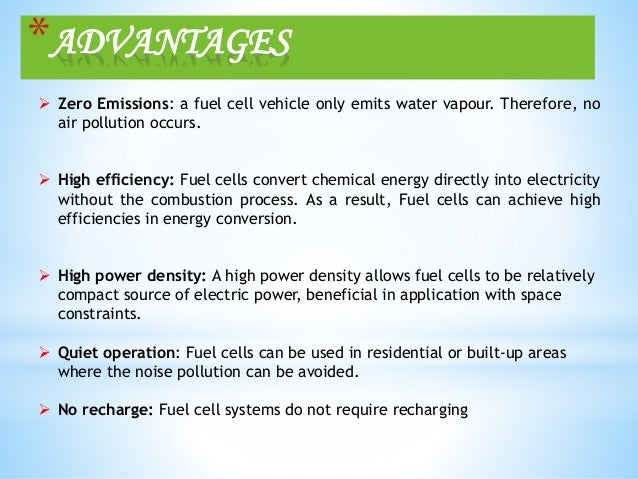 hydrogen fuel cell benefits and limitations Hydrogen as an alternative fuel spring 2015 class list # ~ ph 313: alternative energy oregon state university  hydrogen fuel cells emit zero waste, where only water vapor is produced as the exhaust iv advantages of hydrogen as a fuel  v disadvantages of hydrogen as a fuel the disadvantage of hydrogen fuel lies in the methods of storing it hydrogen used to.