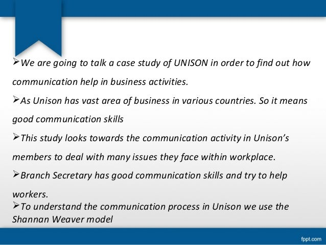 Case study business communication