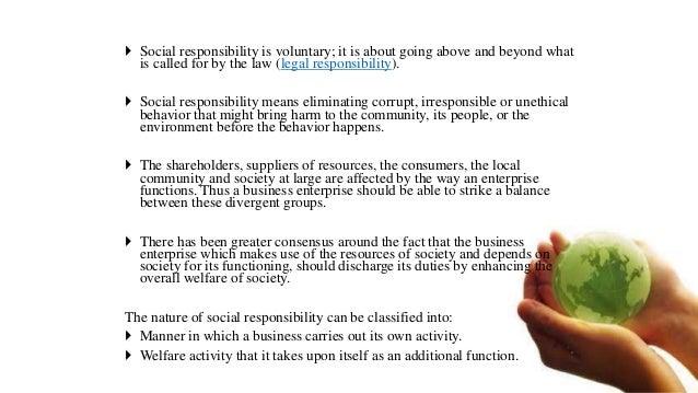 SOCIAL RESPONSIBILITY OF BUSINESS Slide 3