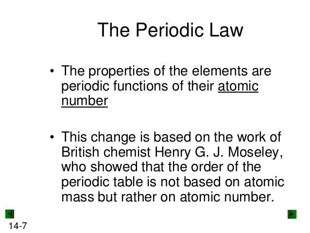 mendeleevs predictions 14 6 7 the periodic