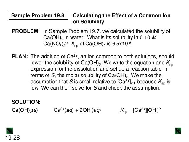 ksp of ca oh 2 Aximum solubility of ca(oh) 2 solutions at 25 c because the solubility of lime  decreases as the temperature increases (see page 3), the ph of lime solutions is .