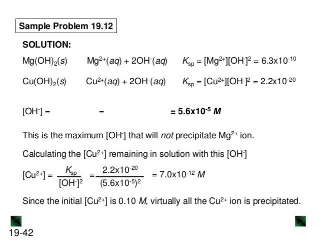 determining the ksp of calcium hydroxide lab report Determining the ksp of calcium hydroxide lab adv comp 23 from advanced chemistry with vernier, vernier software & technology, 2004 introduction calcium hydroxide is an ionic solid that is sparingly soluble in water.