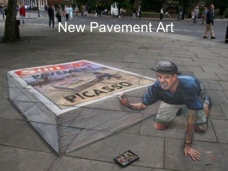 New Pavement Art