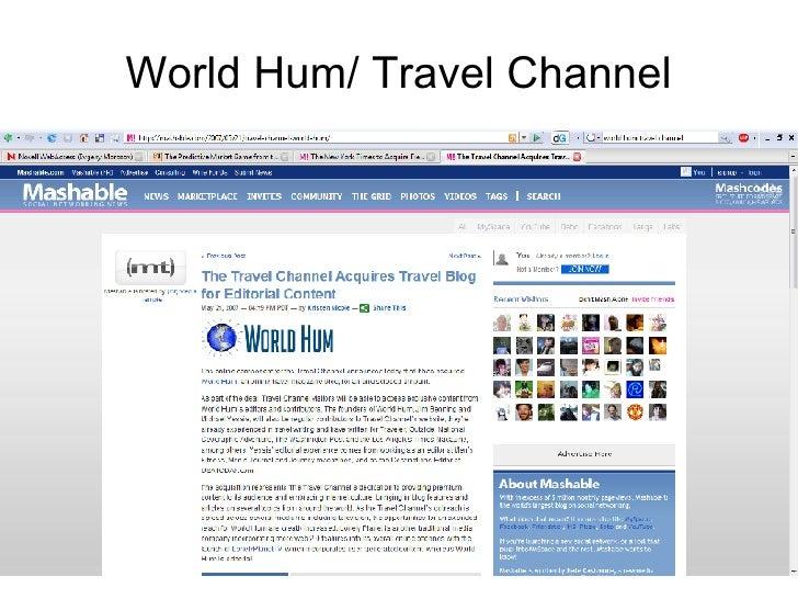 World Hum/ Travel Channel