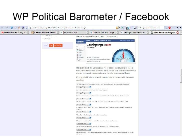 WP Political Barometer / Facebook