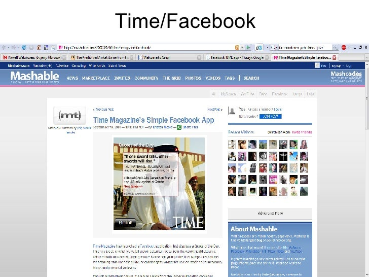 Time/Facebook